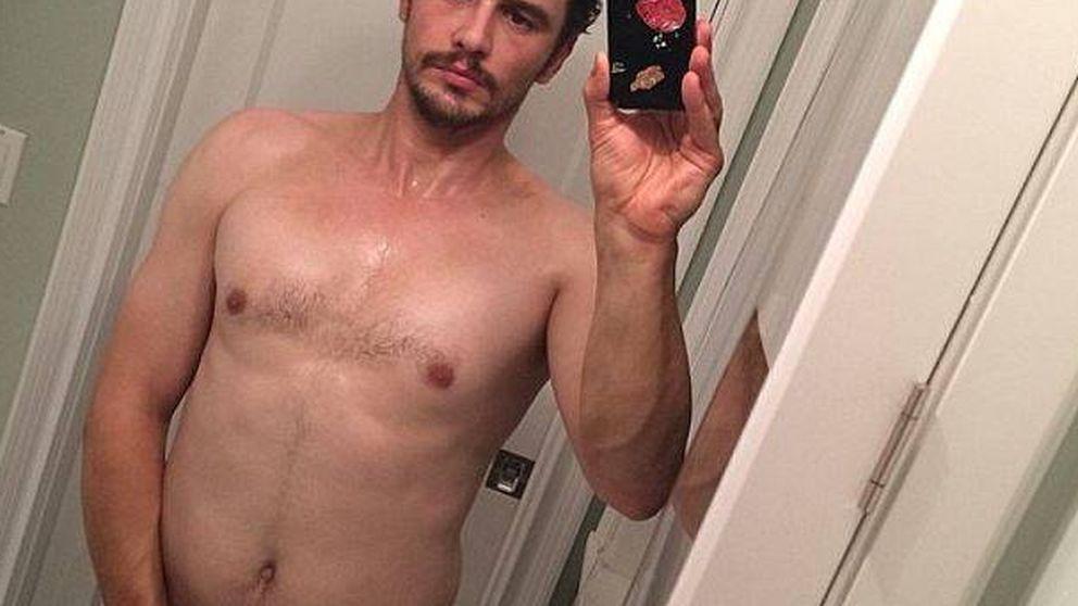 El enésimo desnudo de James Franco, ahora a favor de Hillary Clinton