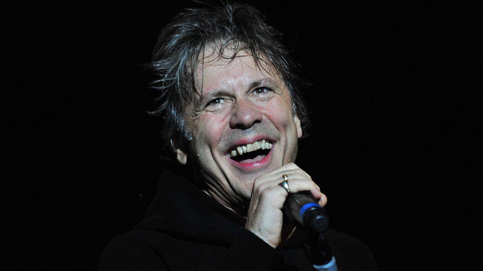 Foto: Bruce Dickinson, vocalista de Iron Maiden. (EFE)