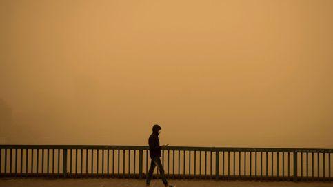 Tormenta de arena en El Cairo