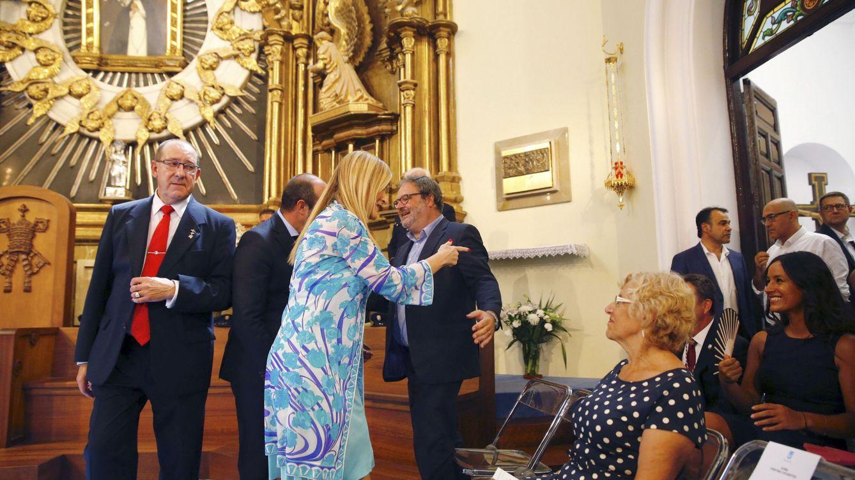 Carmena, Cifuentes y Villacís: nuevo careo bajo el manto de la Virgen de La Paloma