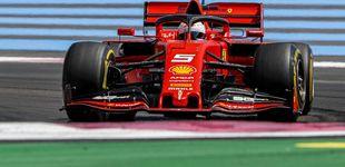 Post de El agujero de Vettel en Ferrari, uno lucha con Mercedes y el otro no puede con Red Bull