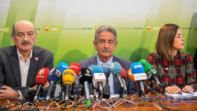 El PRC y PSOE cierran su crisis a cambio del apoyo de los de Revilla a los presupuestos