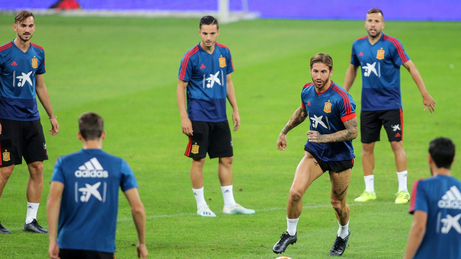 Foto: Euro 2020 qualifier - spain training
