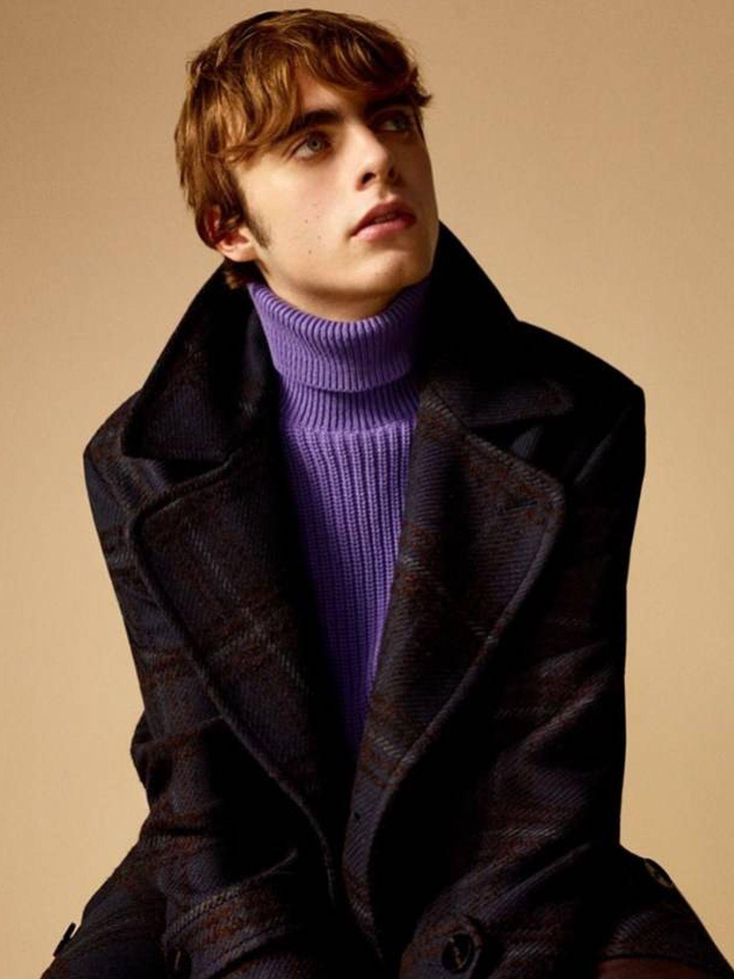 Lennon Gallagher para Zara.