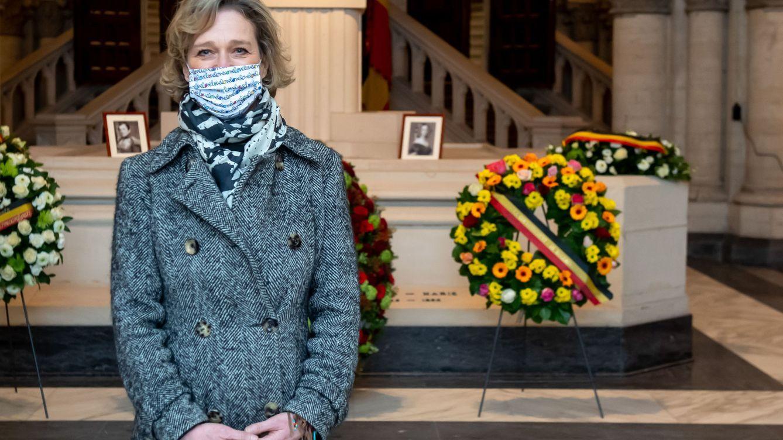 Ya ejerce de princesa: Delphine Boël se estrena en un acto de la familia real belga