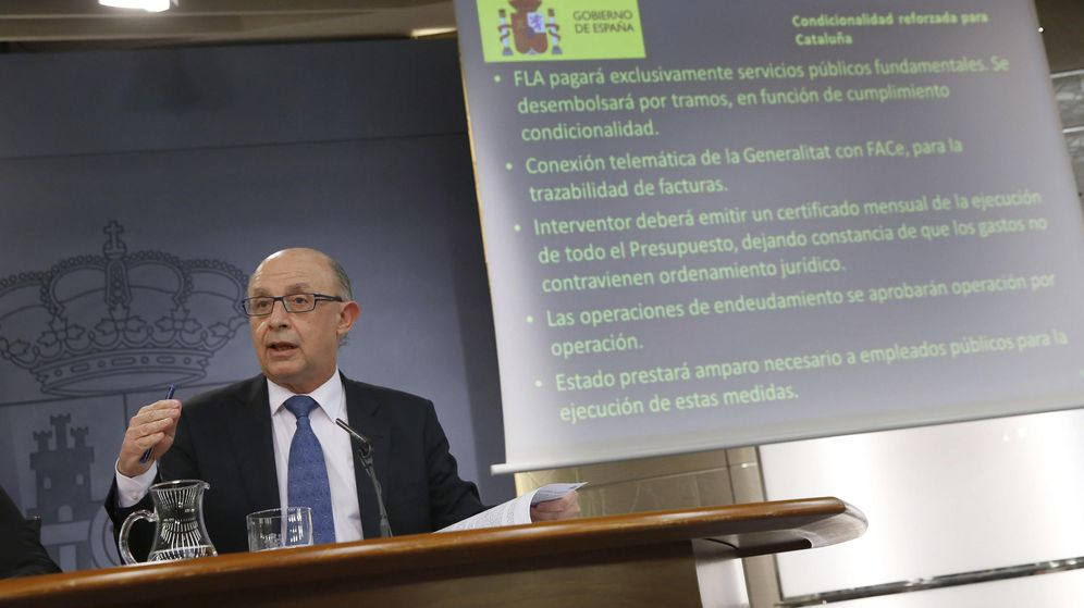 Foto:  El ministro de Hacienda y Administraciones Públicas, Cristóbal Montoro. (EFE)