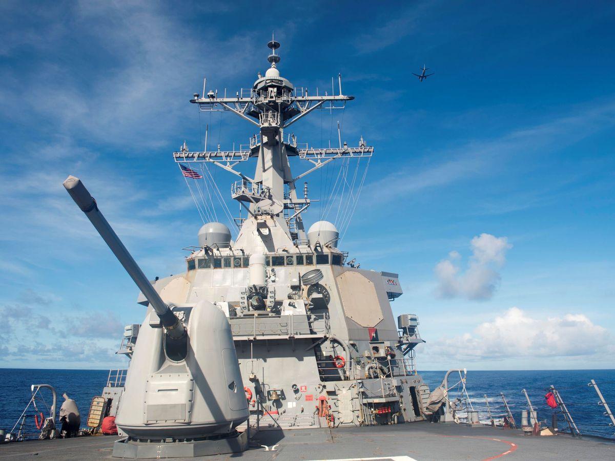 Foto: El destructor USS Benfold. (Reuters)