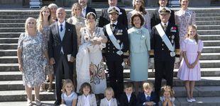 Post de Elegancia, niños y un desmayo: el bautizo de Julian, hijo de Carlos Felipe y Sofía de Suecia