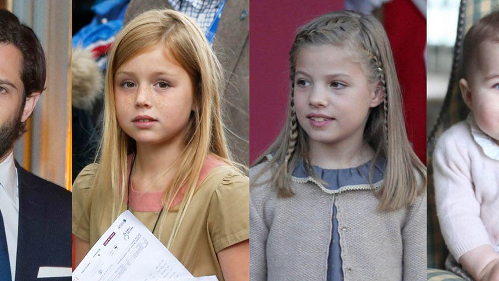 De Harry a la infanta Sofía: así son los 'segundones' de las monarquías europeas
