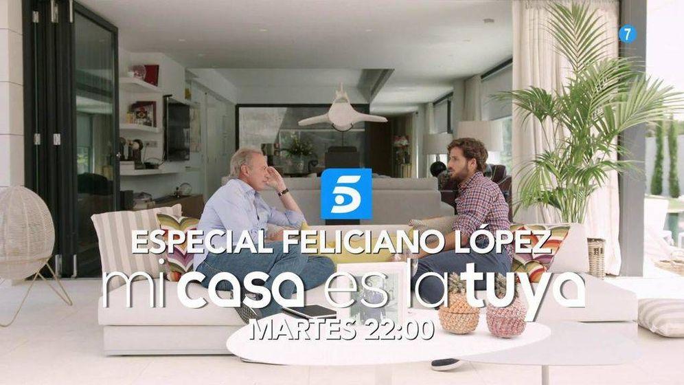 Foto: 'Mi casa es la tuya', con Feliciano López, el martes 18 de julio.
