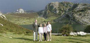 Post de Los tres look deportivos de Letizia, Leonor y Sofía en los Picos de Europa, a examen