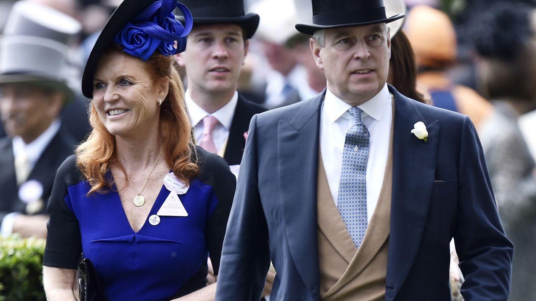 Sarah Ferguson y el príncipe Andrés, en una imagen de archivo. (EFE)