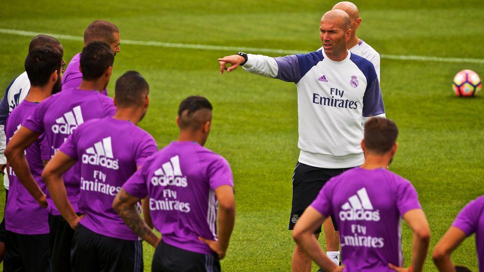 Zidane mima el físico del Madrid para no acabar como Benítez y Ancelotti