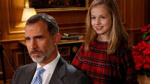 Leonor, la protagonista del discurso navideño del Rey (y del 2018 en Zarzuela)