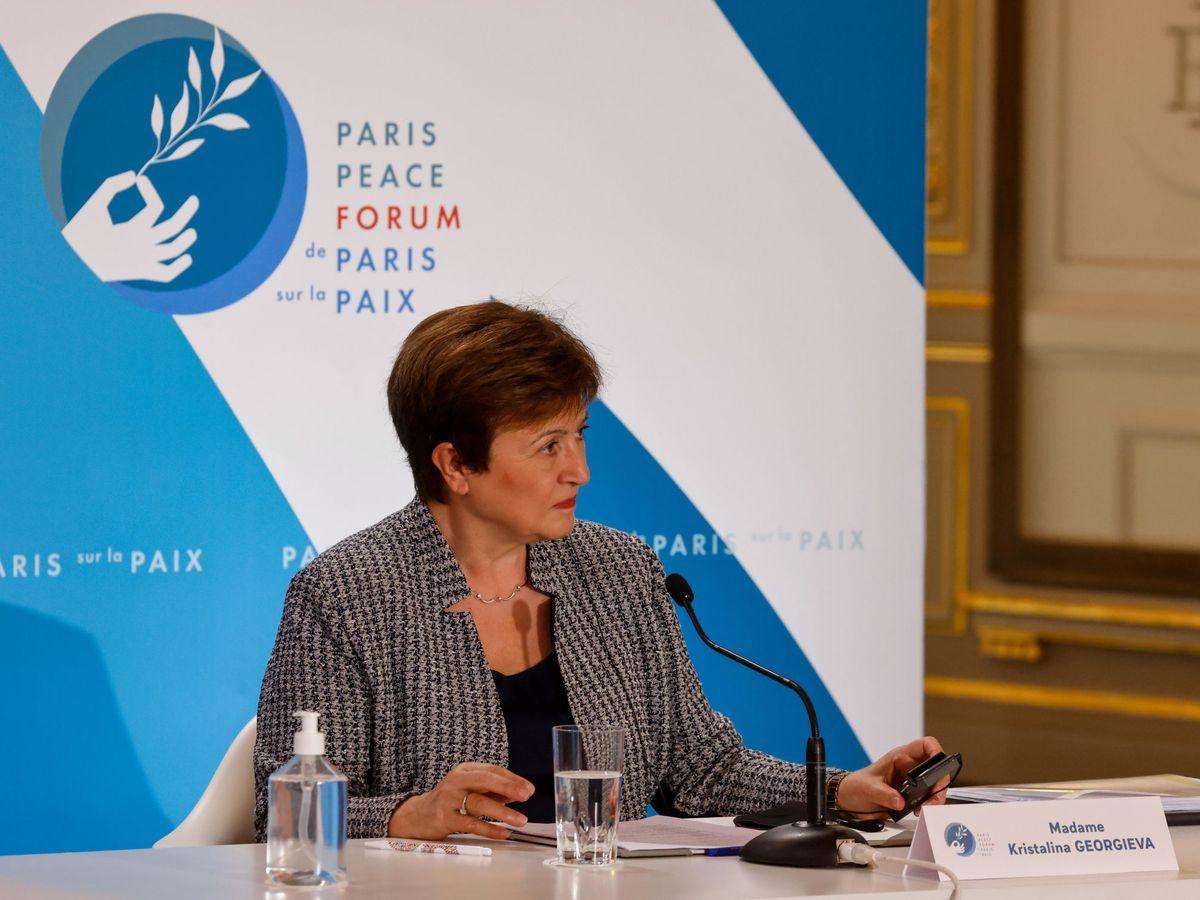 Foto: La directora gerente del FMI, Kristalina Georgieva. (Efe)