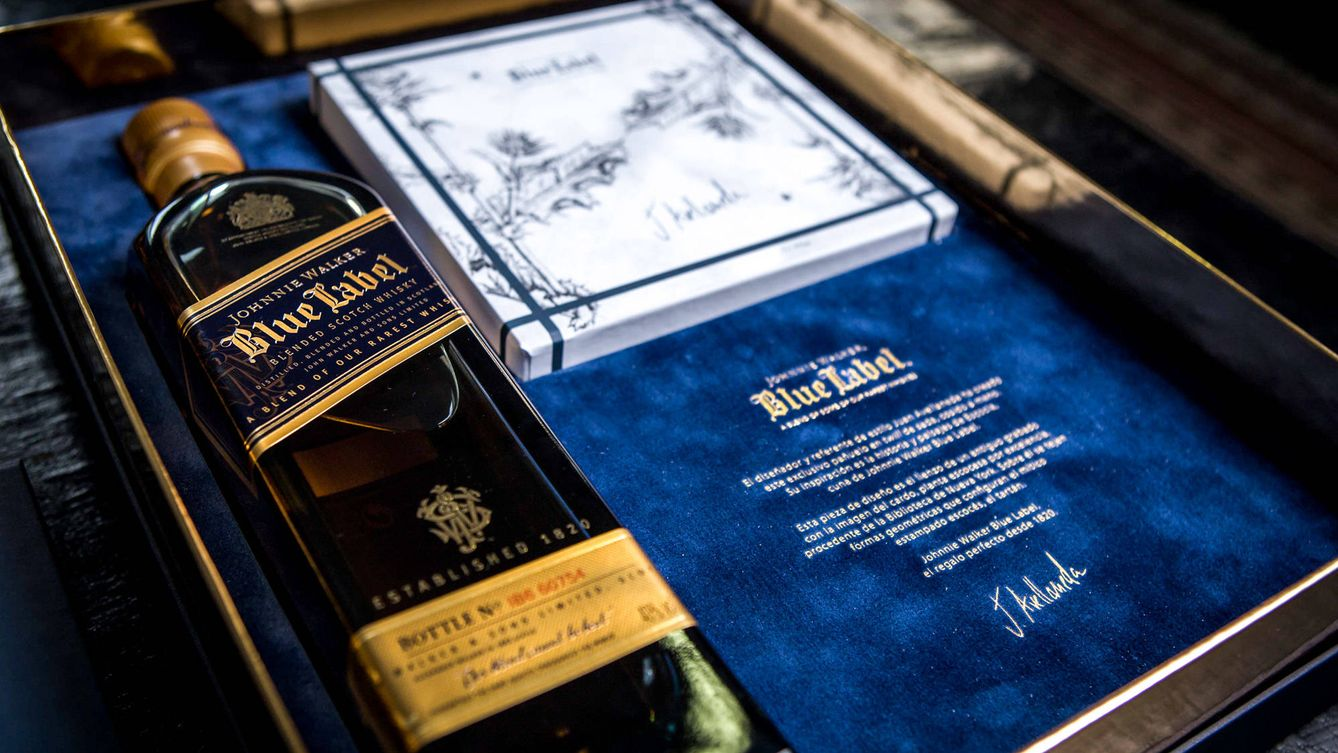 El pack más sofisticado de Johnnie Walker Blue Label