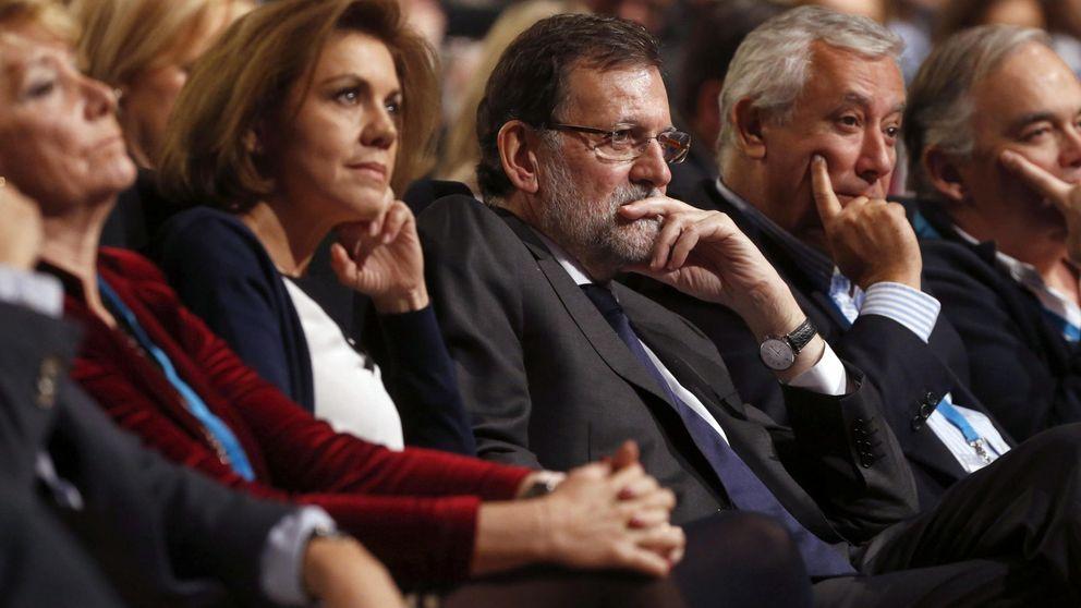 Rajoy avisa ante los movimientos internos que estará al frente tras el 24-M