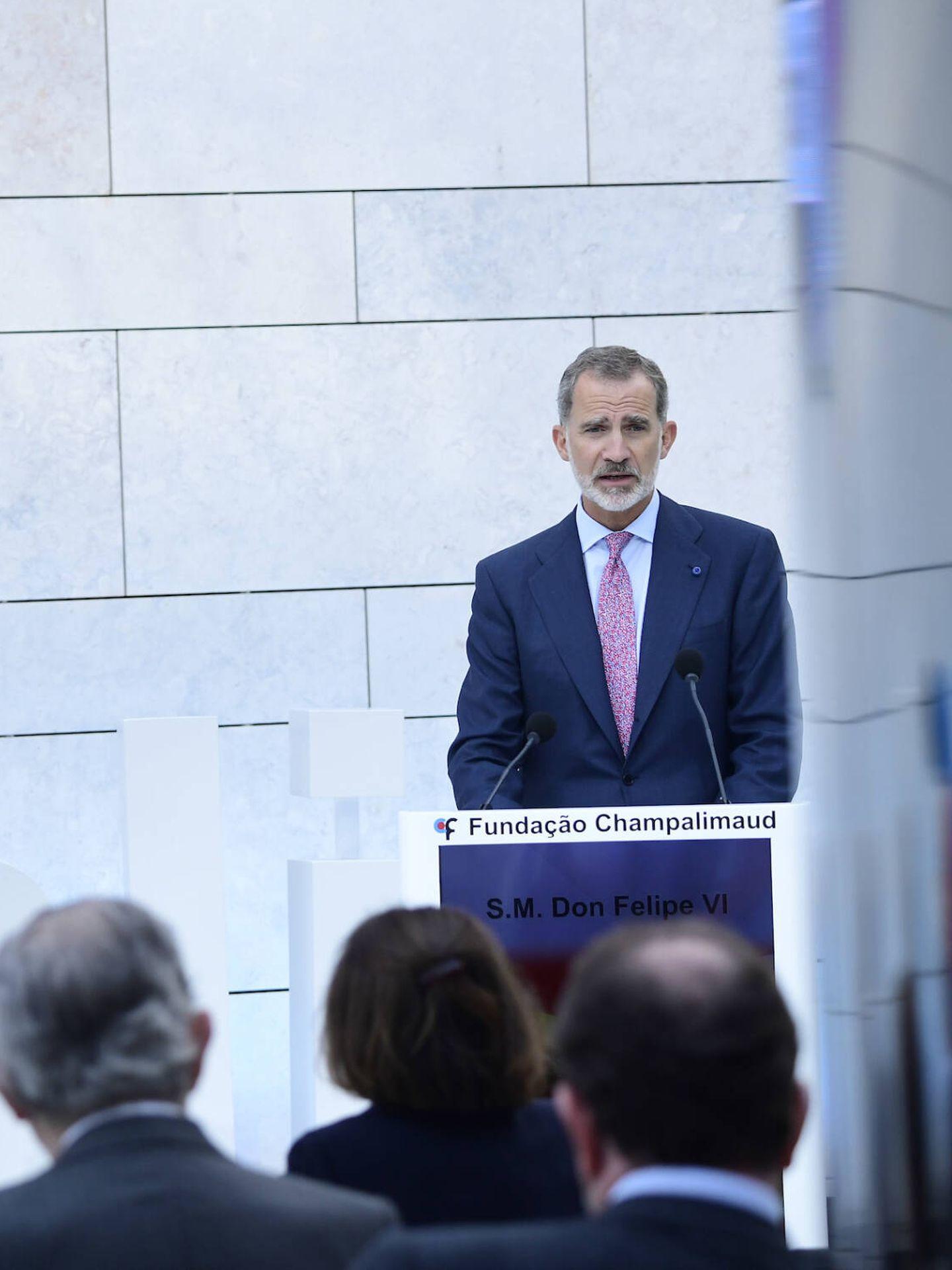 El rey Felipe, durante su discurso. (Limited Pictures)