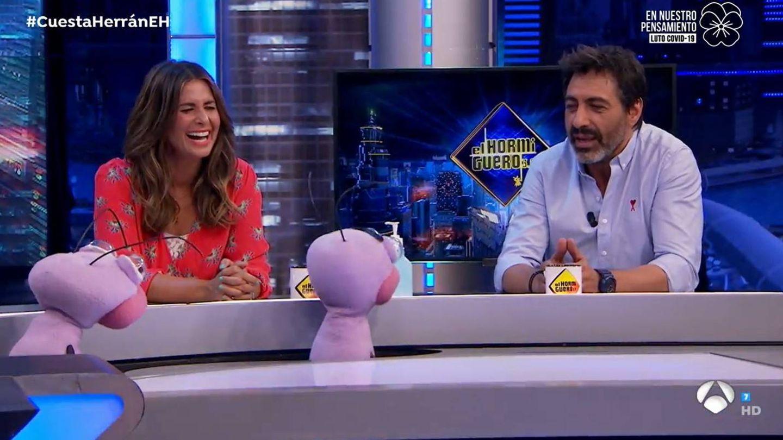 Nuria Roca y Juan del Val. (Atresmedia)