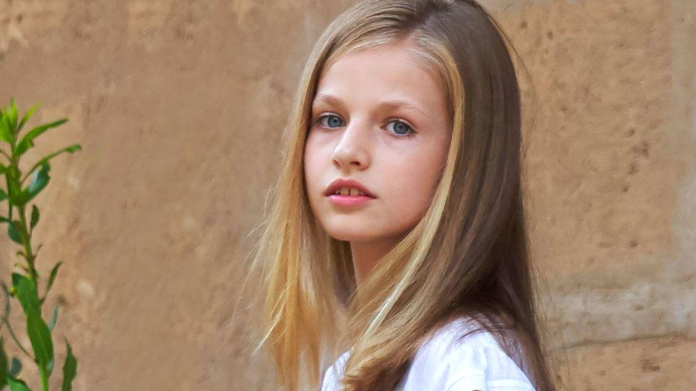 Foto: La princesa Leonor. (Getty)