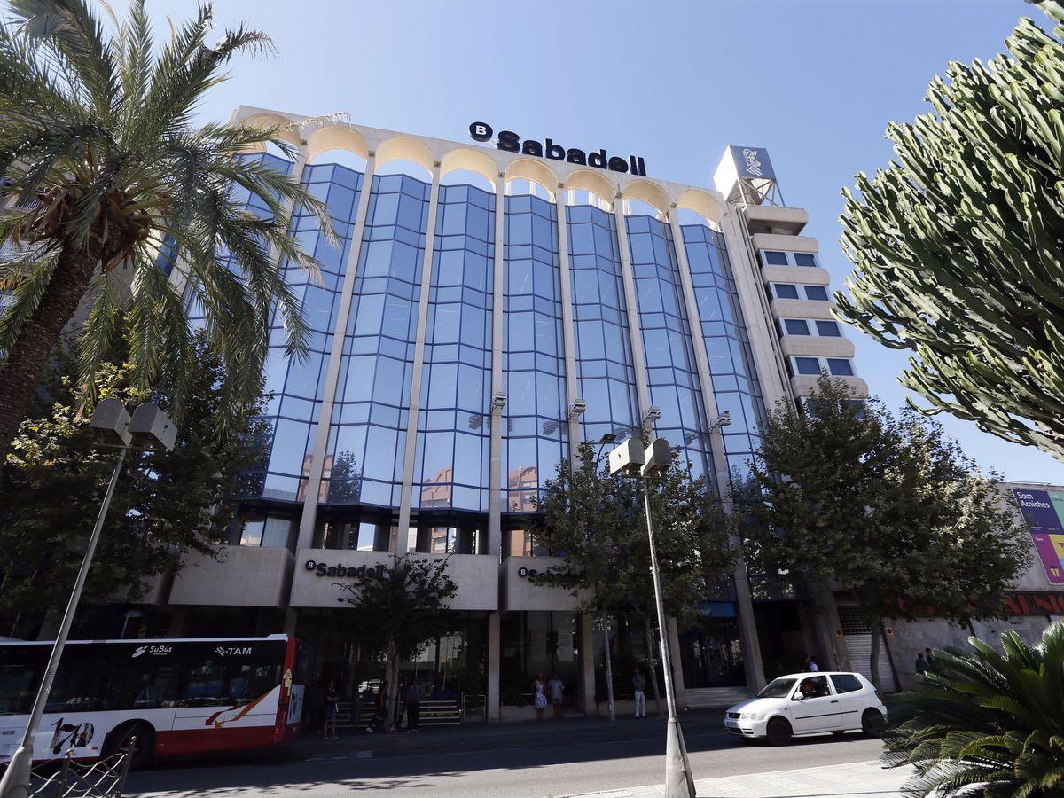 Foto: Sede del Banco Sabadell