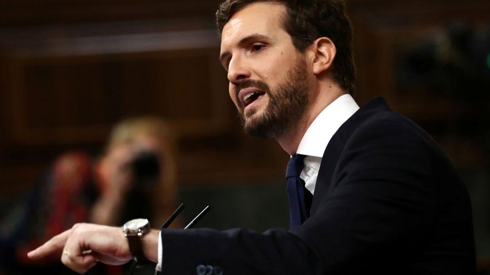 Pablo Casado anuncia que el PP apoyará a Revilla en Cantabria si el PSOE rompe con él