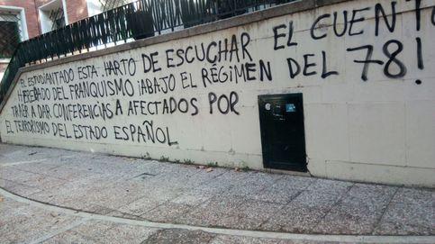 Aparecen pintadas en apoyo de presos de ETA