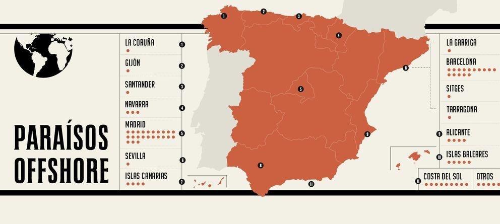 Foto: El mapa del 'quién es quién'