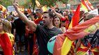 Unas 2.000 personas en la marcha de VOX en Barcelona por la unidad de España