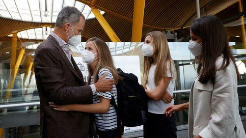 La infanta Sofía, protagonista involuntaria de la despedida de Leonor en la prensa extranjera