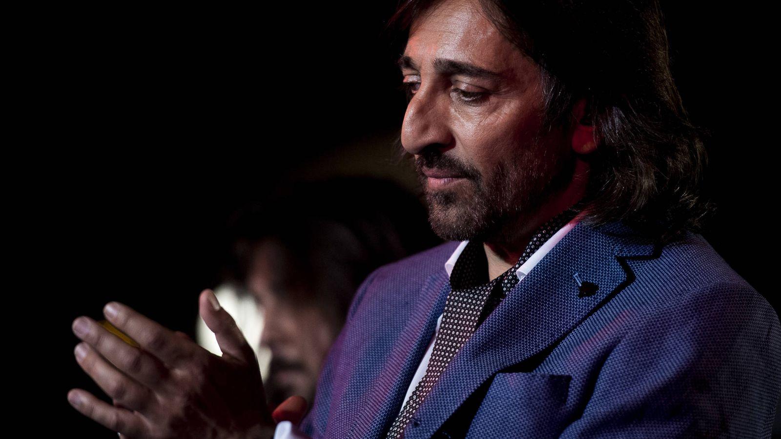 Foto: El cantante Antonio Carmona en una imagen de archivo. (Gtres)