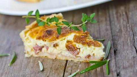 Pastel de cebolla y jamón, la cena perfecta