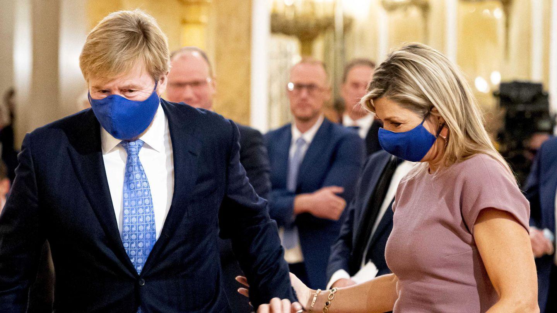 Guillermo y Máxima de Holanda, el pasado octubre. (EFE)