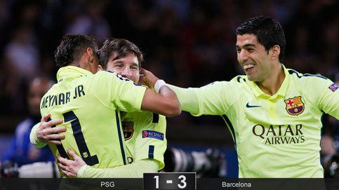 El Barcelona huele la sangre del Paris Saint-Germain y deja medio muerta la eliminatoria