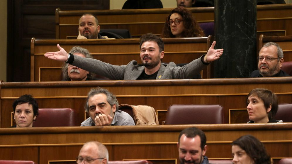 Foto: El diputado de ERC en el Congreso, Gabriel Rufián. (Reuters)