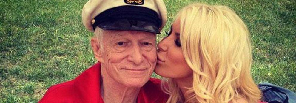 Foto: Hugh Hefner se casa con otra 'conejita' Playboy