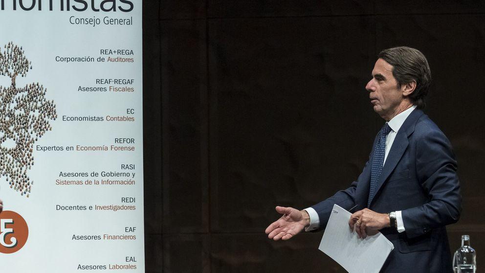Montoro, Aznar y Borrell, el apretón de manos que nunca llegó