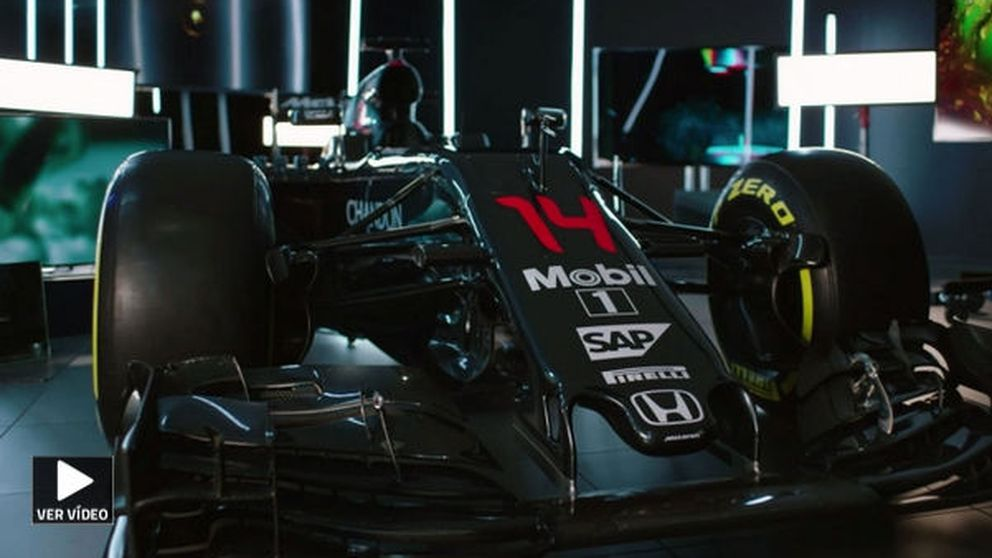 Así es el nuevo MP4-31 de Alonso: un monoplaza increíblemente compacto