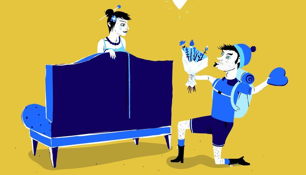 El 'couchsurfing' evoluciona: del alojamiento barato al romance exprés