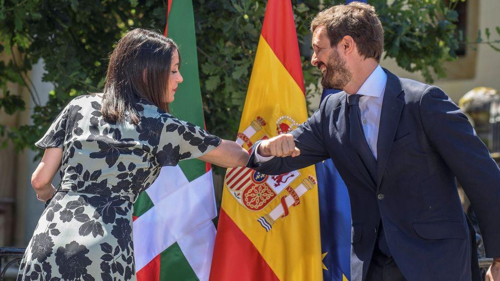 El fracaso de Euskadi aumenta el rechazo del PP catalán sobre otra coalición con Cs