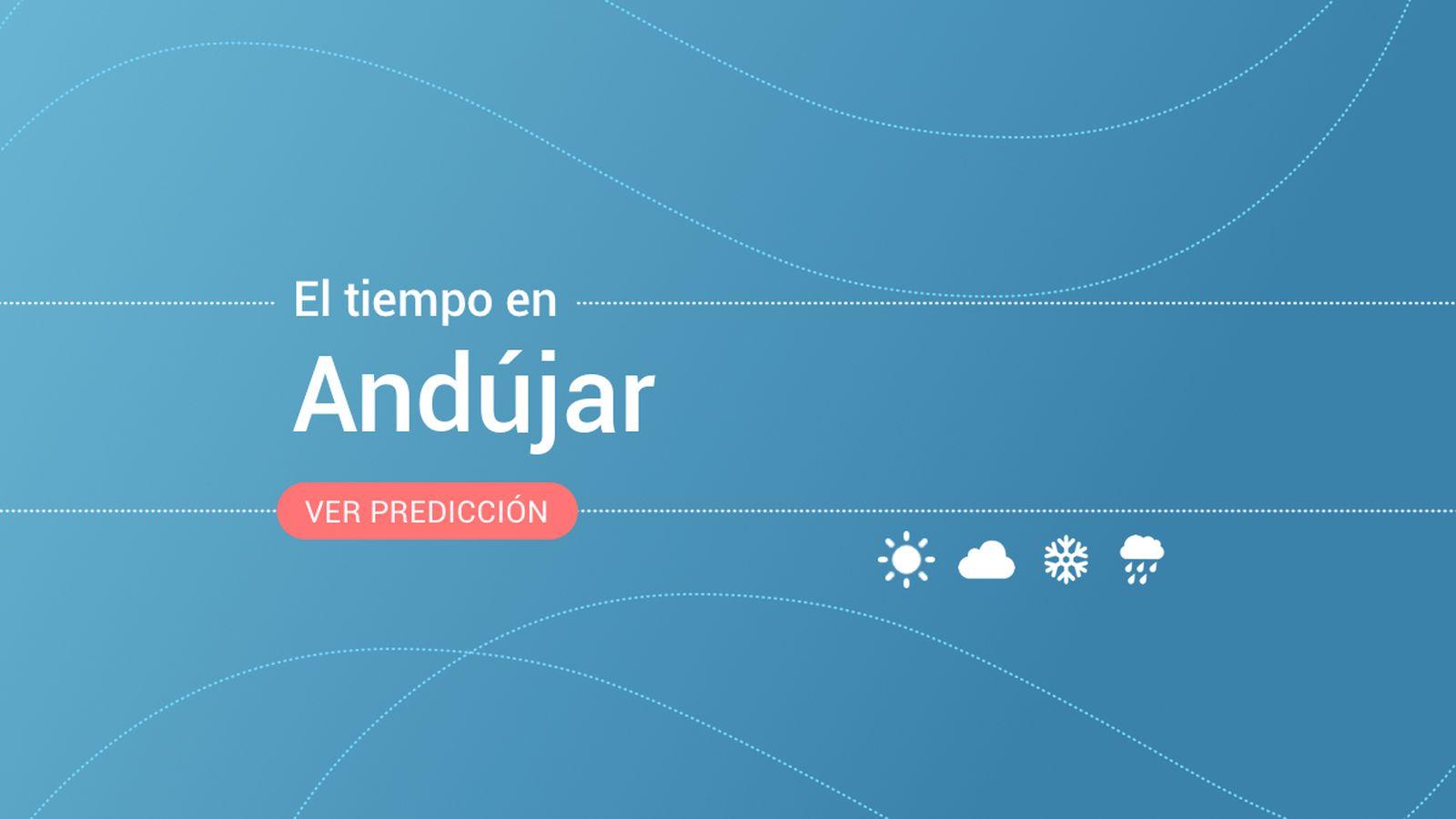 Foto: El tiempo en Andújar. (EC)