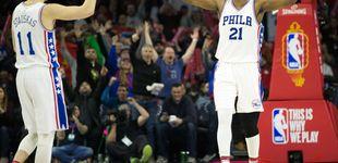 Post de Embiid o cómo conquistar la NBA seis años después de descubrir el baloncesto