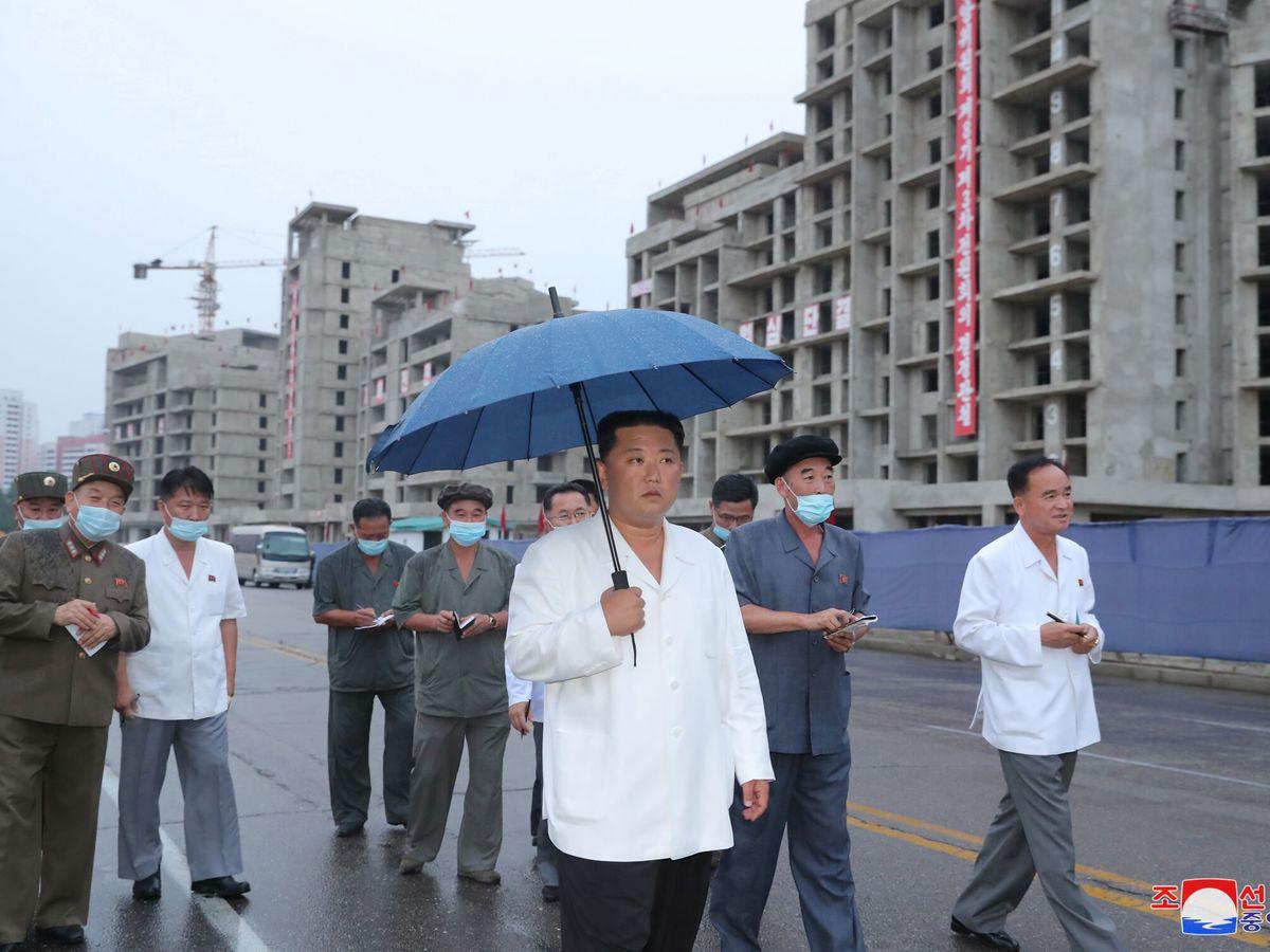 Foto: Kim Jong-un, en Pyongyang. (Reuters)