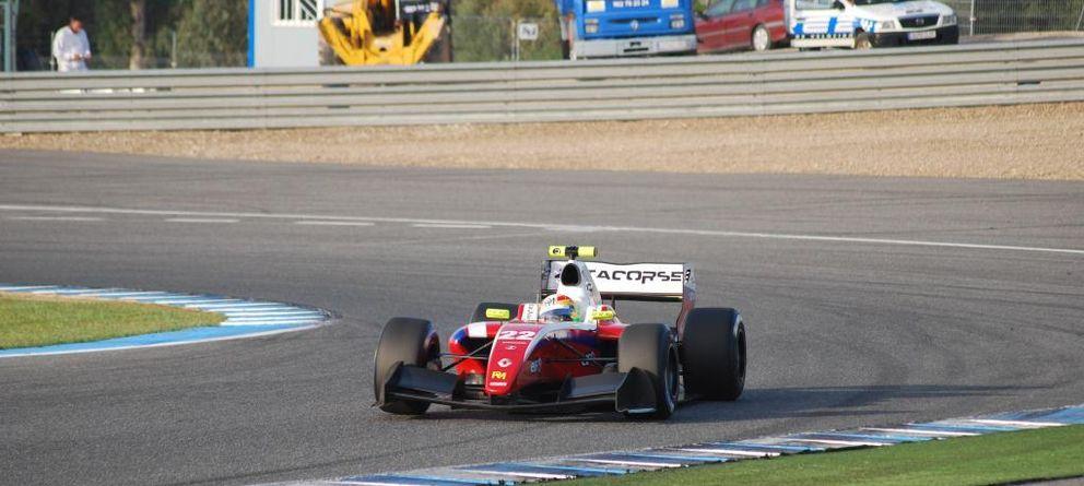 Desgraciada cita en Jerez para Merhi que pierde el subcampeonato