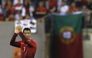 Cristiano Ronaldo, ya curado, tiene ante sí su gran prueba en el debut ante la 'Mannschaft'