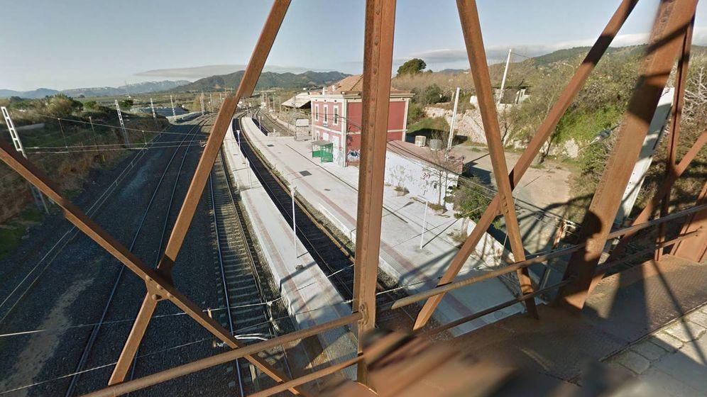 Foto: Estación de Les Borges del Camp (Tarragona). (Google Maps)