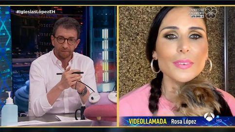 Rosa López frena a Pablo Motos tras sentirse incómoda en 'El hormiguero'