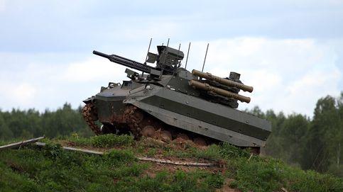 Este 'tanque-robot' del ejército ruso es un auténtico desastre