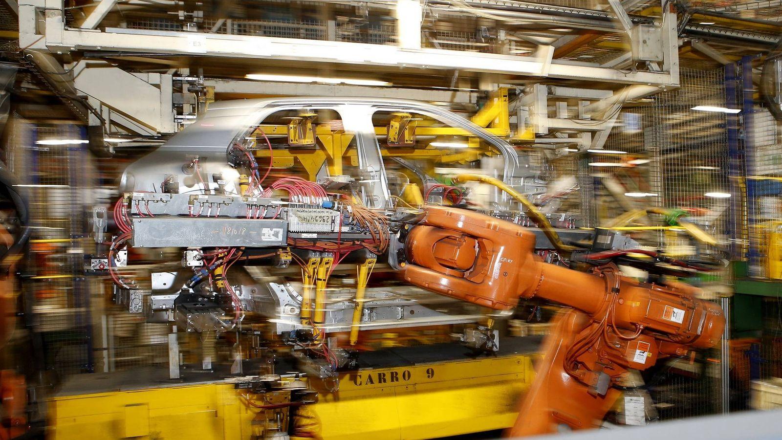 Foto: La planta de PSA en Villaverde ya tiene asignada la producción de un nuevo modelo en 2021.