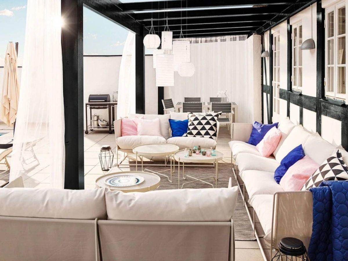 Foto: Decora tu jardín con Ikea. (Cortesía)